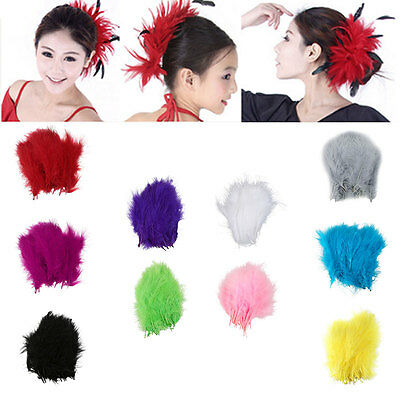 30/50/100X Turkey Feathers 16-18cm Event Feather DIY Crafts Wedding Party Deco
