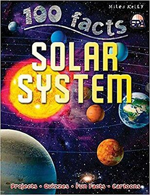 100 Facts - Solar System by Ian Graham (Paperback)