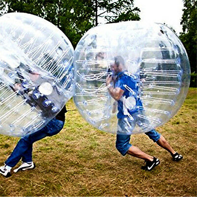 1.5M Body Inflatable Gum Bumper Football Zorb Ball Bubble Soccer VALUABLE New
