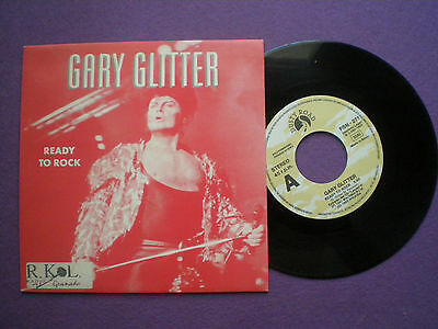 GARY GLITTER Ready To Rock SPAIN PROM0 45 1992 NM Glam Rock