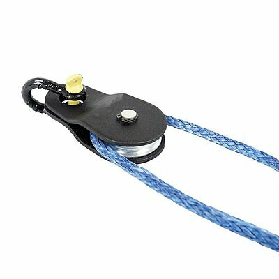 Groove Guide Pulley  for Cable Pull -10000KG Black