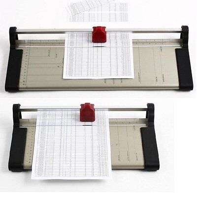 A3 A4 A5 Precise Rotary Paper Sheet Guillotine Trimmer Cutter Photo Card Office