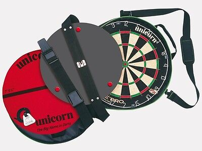 Unicorn On Tour Portable Door Hanging System with Eclipse Pro dartboard