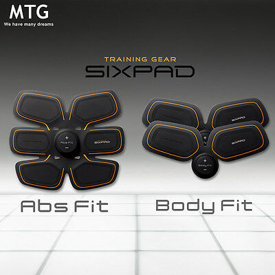 Mtg Sixpad Abs Fit(1 Set) + Twins Body Fit(2 Sets) Complete Full Body Work Out