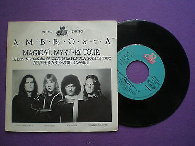 AMBROSIA Magical Mistery Tour OST SPAIN 45 1977 Beatles Related