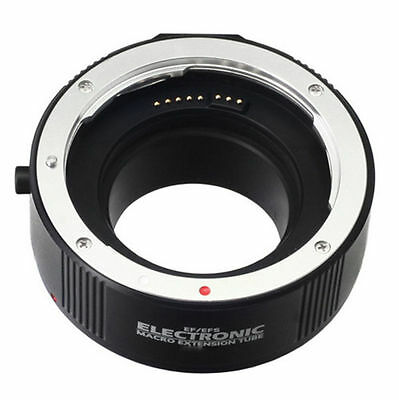 Electronic Auto Focus Marco Extension Tube Adapter Ring f Canon EOS EF EF-S DSLR