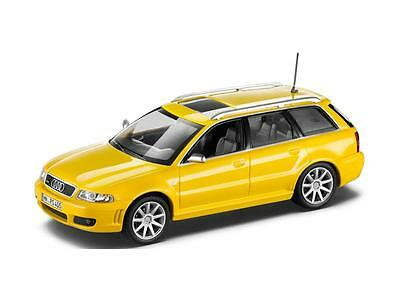 Genuine Audi RS4 Avant B5 1:43 Scale Model - Imola Yellow