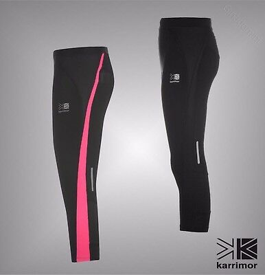 Girls Karrimor Breathable Mesh Panels Running Capri Tights Sizes Age 7-13 Yrs