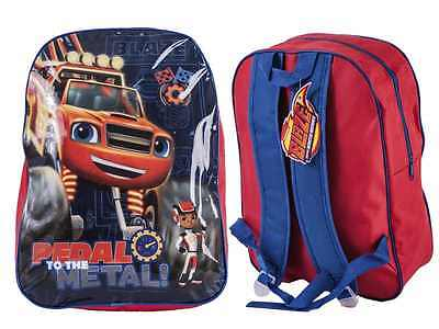 Blaze And The Monster Machines Rucksack Backpack School Junior Bag Children Kids