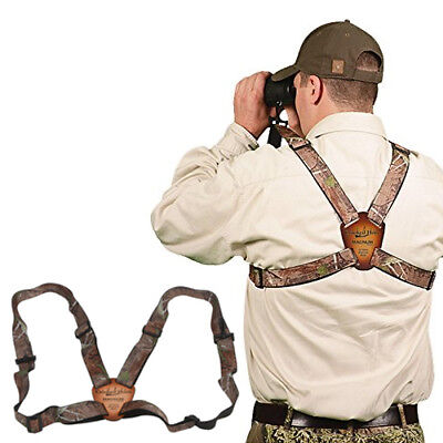 "Crooked Horn Realtree APHD Magnum Edition 1.25"" BS-128 Binoculars Strap Harness"