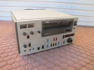 Sony VO-5800 U-Matic Professional VTR Video Cassette Editing Recorder Player