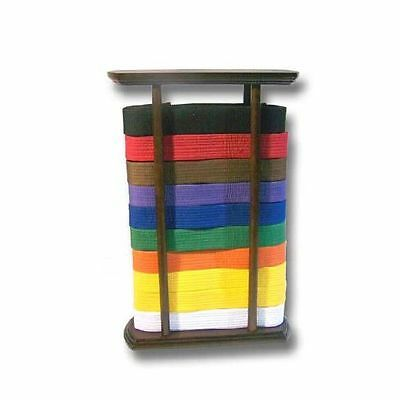 Martial Arts Rectangular Floor Standing Belt Display
