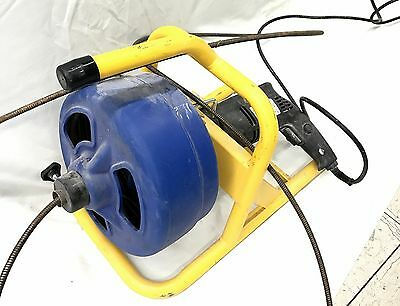 BrassCraft BC260 5/16 in x 50 ft. Cable Drum / Drain Cleaning Snake *No Shipping
