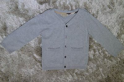 Burberry Baby Front Button Cardigan- Grey (Size 2 Toddler)
