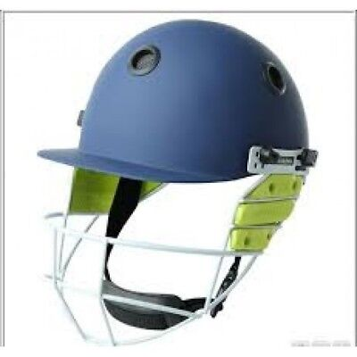 Kookaburra Apex Cricket Helmet and Faceguard Navy Paint