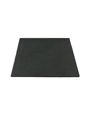 "High Temp Felt Plumbers Pad: Black, 12"" X 12"" X 1/8"" Thick"