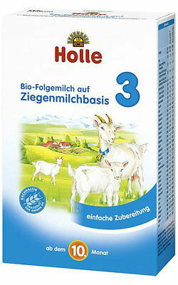 Holle Organic Goat Milk Baby Formula - Stage3 - 4 Pack - FREE Shipping