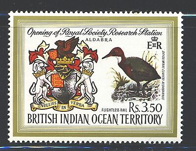 BRITISH INDIAN OCEAN TERRITORY Sc43 SG40 MNH 1971 3.50r Research Station SCV$17