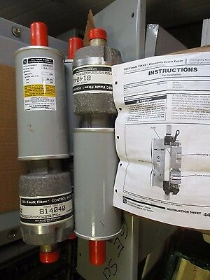 S&C 802600R2, Fault Filter Electronic Power Fuses- SET OF 3- NEW