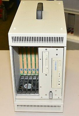 Hybricon 078-350 5 Slot Portable CPCI Chassis  CD Floppy