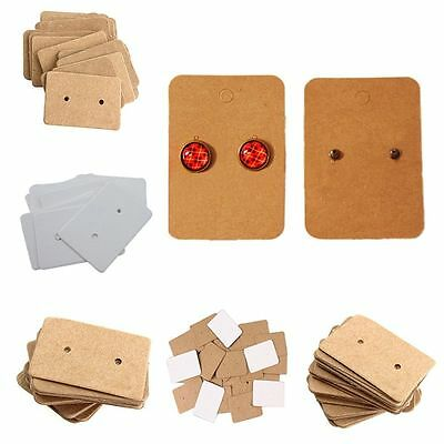 Hang Ear Studs Hanging Cards Display Cards Earring Holder Paper Cards