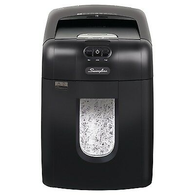 Swingline Shredder, Stack and Shred 130X Auto Feed Cross Cut, 100-130 sheets,...