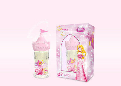 DISNEY, AURORA, 50ml EAU DE TOILETTE,, in a Princess Castle Container.