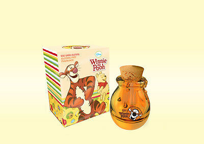WINNIE the POOH with TIGGER, 50mL E.D.T, SPRAY IN A ''HONEY POT SHAPED BOTTLE''