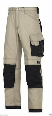 Snickers 3314 Work Trousers with Kneepad Pockets Canvas+ W39