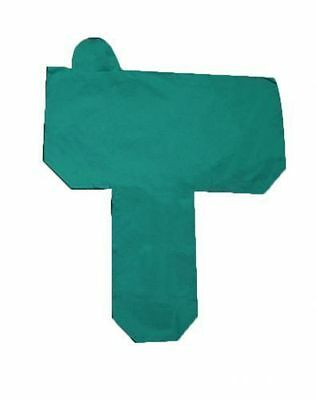 "Showman Cordura Nylon Full Western Saddle Cover 32"" Long Fenders Teal New"