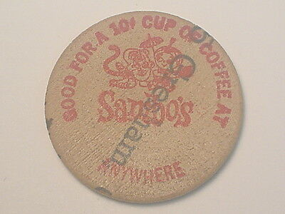 Gresham, (OR) Wooden Nickel Coffee Token - Sambo's