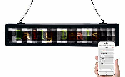 ROYAL SOVEREIGN RSB-1510 LED Bluetooth Message Sign with App, Multilingual, 1...