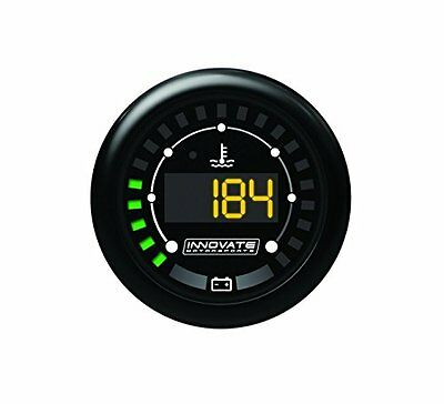 Innovate 3853 MTX D: Digital, Water temperature e Battery Voltage Gauge (x3P)