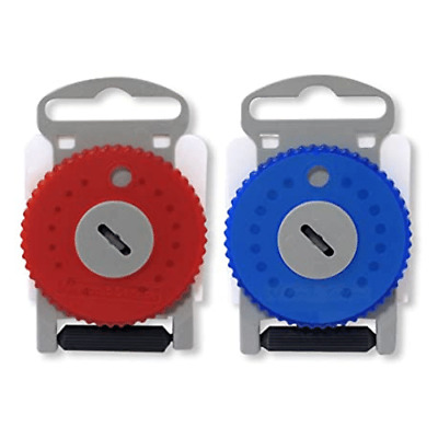 HF4 Pro Wax Filter Siemens/Resound Red/Blue (Dial of 15 wax traps)