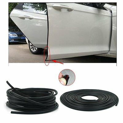 5M/8M Black Moulding Trim Rubber Strip Car Door Scratch Protector Edge Guard