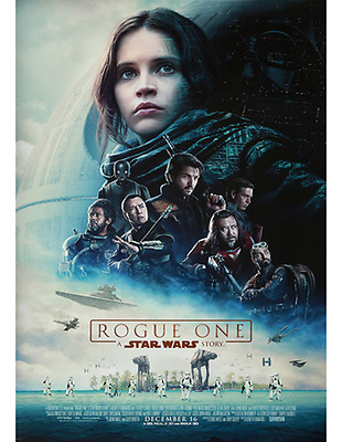 AUTHENTIC NEW Rogue One: A Star Wars Story Payoff 27 X 40 DOUBLE SIDED POSTER