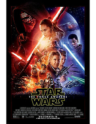 Star Wars: The Force Awakens Double Sided 27''x 40 Poster
