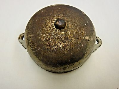 Antique P & F Corbin Metal Door Bell