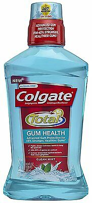 Colgate Total Gum Health Mouthwash Clean Mint 16.9 Ounce