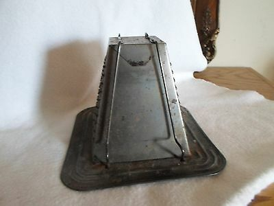 Antique/vintag Bromwell Toaster #2 Pyramid 2 Slice For Stovetop Or Camp Fire