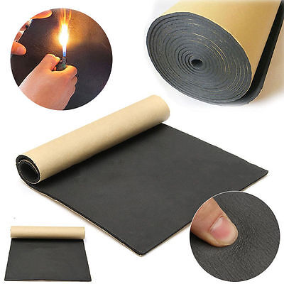 30 x 50cm New Car Auto Sound Proofing Deadening Insulation 5mm Closed Cell Foam