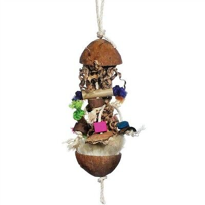 Octopus - Foraging Bird Toy by Prevue Naturals for Medium Parrots Greys Amazons