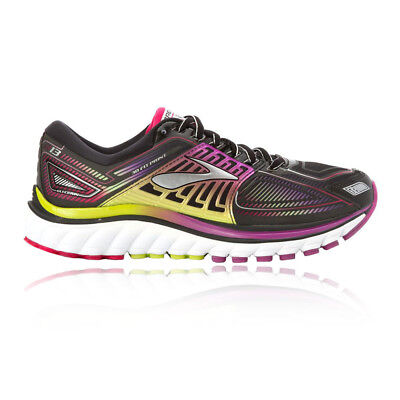 Brooks Glycerin 13 Womens Purple Black Cushioned Running Shoes Trainers D Width