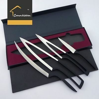 4PC Set - Premium 5Cr17Mov Stainless steel Deglon Meeting Knife - Unique Design