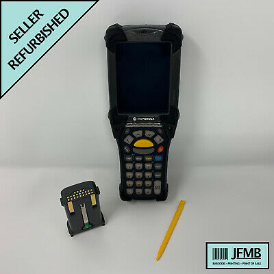 Symbol Motorola MC9090 Wireless 2D Barcode Scanner Windows Mobile 6.1 PDA 5.0