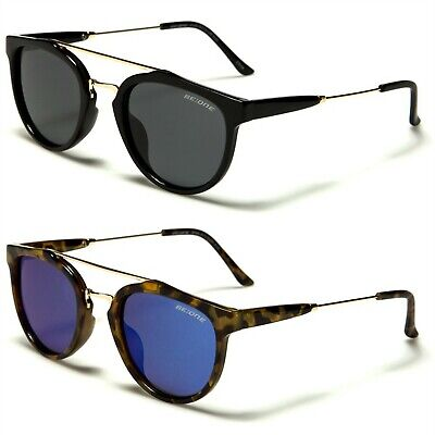 New BeOne Polarized Women Men Round Vintage Designer Sunglasses
