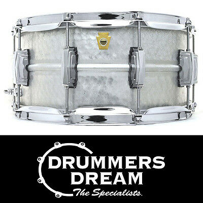 """Ludwig 14 x 6.5"""" Limited Edition Acrophonic Hammered Snare Drum RRP $1299.00"""