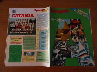 rivista sportiva-CAMPIONATO DI CALCIO 83/84-spec.s. A-suppl. all'INTREPIDO
