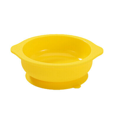 BPA Free Kids Baby Stay Put Suction Feeding Food Grade Silicone Bowl