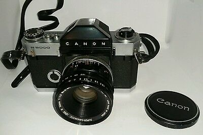 Canon Canonflex R2000 SLR Film Camera With 50 mm lens kit